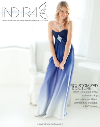 Indira Bridesmaid Dress Poster