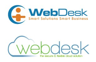 WEBDESK OLD vs. New Logo